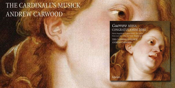 New Guerrero recording is 'essential listening' - Gramophone Editor's Choice.