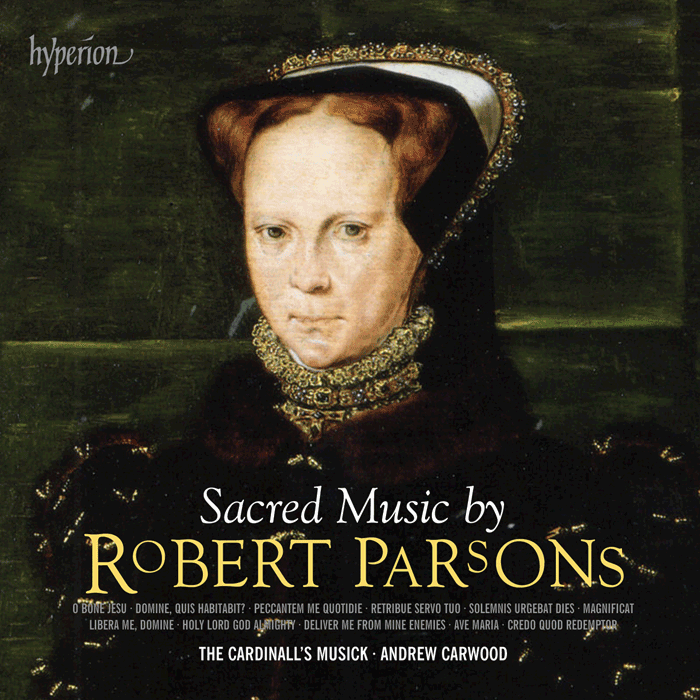 New CD release of Sacred Music by Robert Parsons
