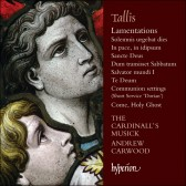 Tallis: Lamentations & other sacred music